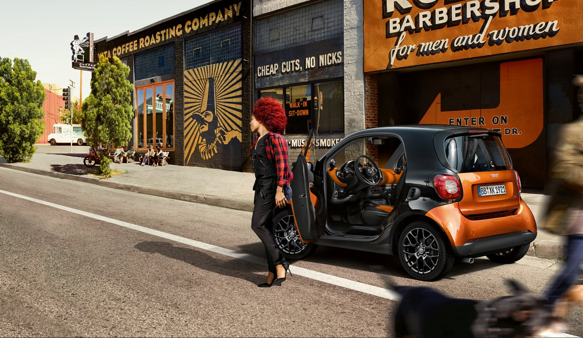 >> Nouvelle smart fortwo.